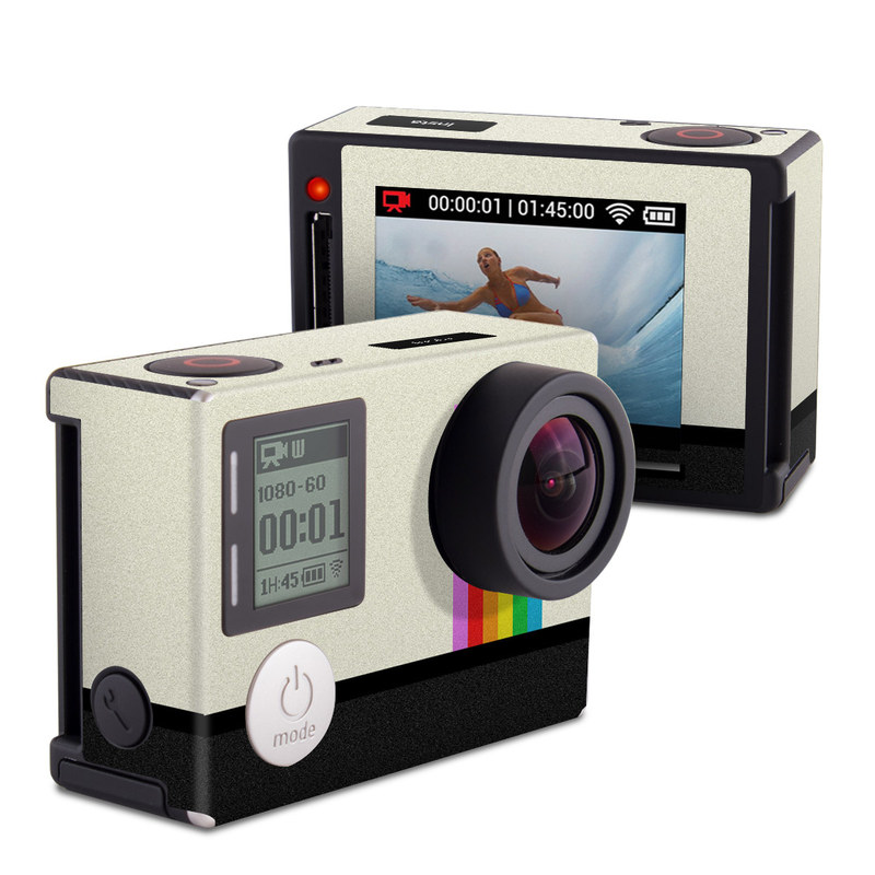 gopro hero4 silver skin insta by retro decalgirl