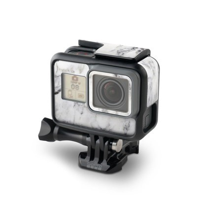 GoPro Hero6 Black Skin - White Marble