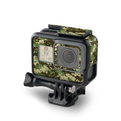 GoPro Hero7 Black Skin - Digital Woodland Camo