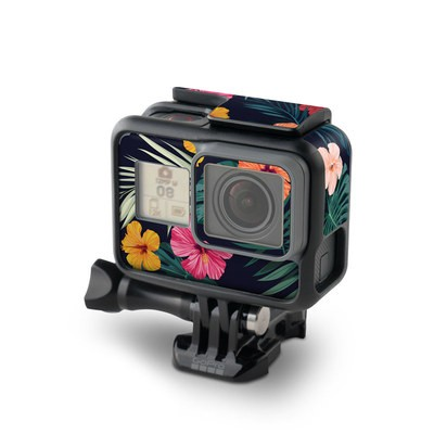 GoPro Hero7 Black Skin - Tropical Hibiscus