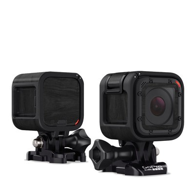 GoPro Hero Session Skin - Black Woodgrain