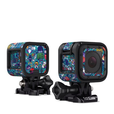 GoPro Hero Session Skin - Cosmic Ray