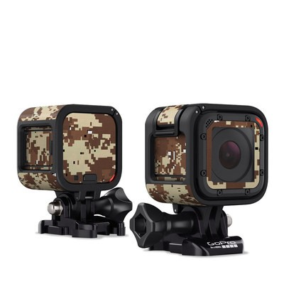 GoPro Hero Session Skin - Digital Desert Camo