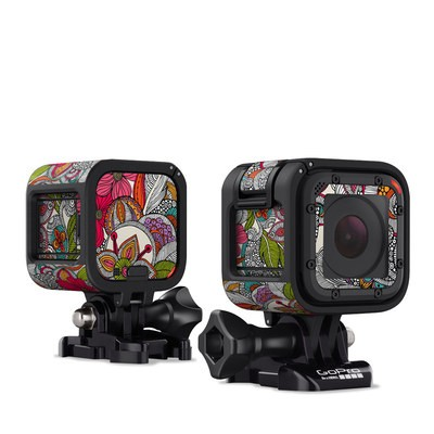 GoPro Hero Session Skin - Doodles Color