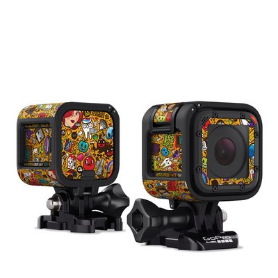 GoPro Hero Session Skin - Psychedelic