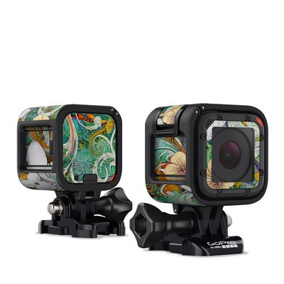 GoPro Hero Session Skin - Sangria Flora
