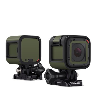 GoPro Hero Session Skin - Solid State Olive Drab