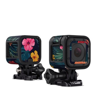 GoPro Hero Session Skin - Tropical Hibiscus