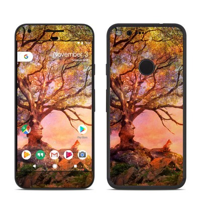 Google Pixel Skin - Fox Sunset