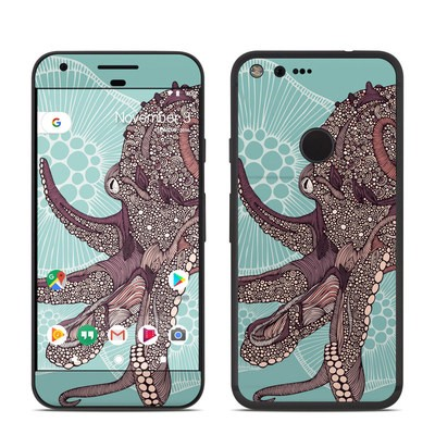 Google Pixel Skin - Octopus Bloom