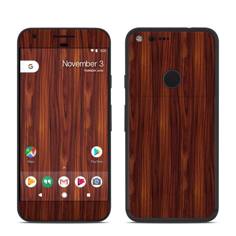 Dark Rosewood Google Home Skin