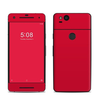 Google Pixel 2 Skin - Solid State Red