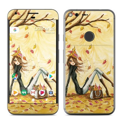 Google Pixel XL Skin - Autumn Leaves