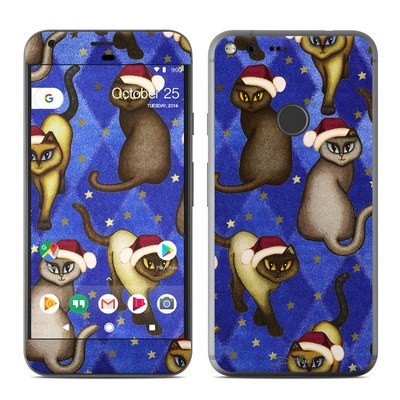 Google Pixel XL Skin - Christmas Cats