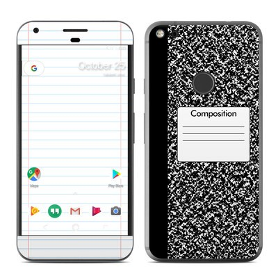 Google Pixel XL Skin - Composition Notebook