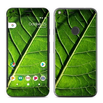 Google Pixel XL Skin - Green Leaf