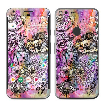 Google Pixel XL Skin - Hot House Flowers