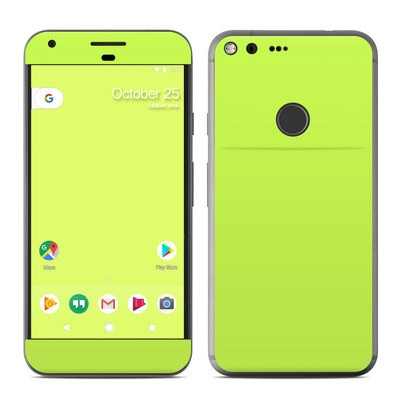 Google Pixel XL Skin - Solid State Lime