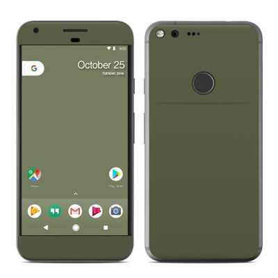 Google Pixel XL Skin - Solid State Olive Drab