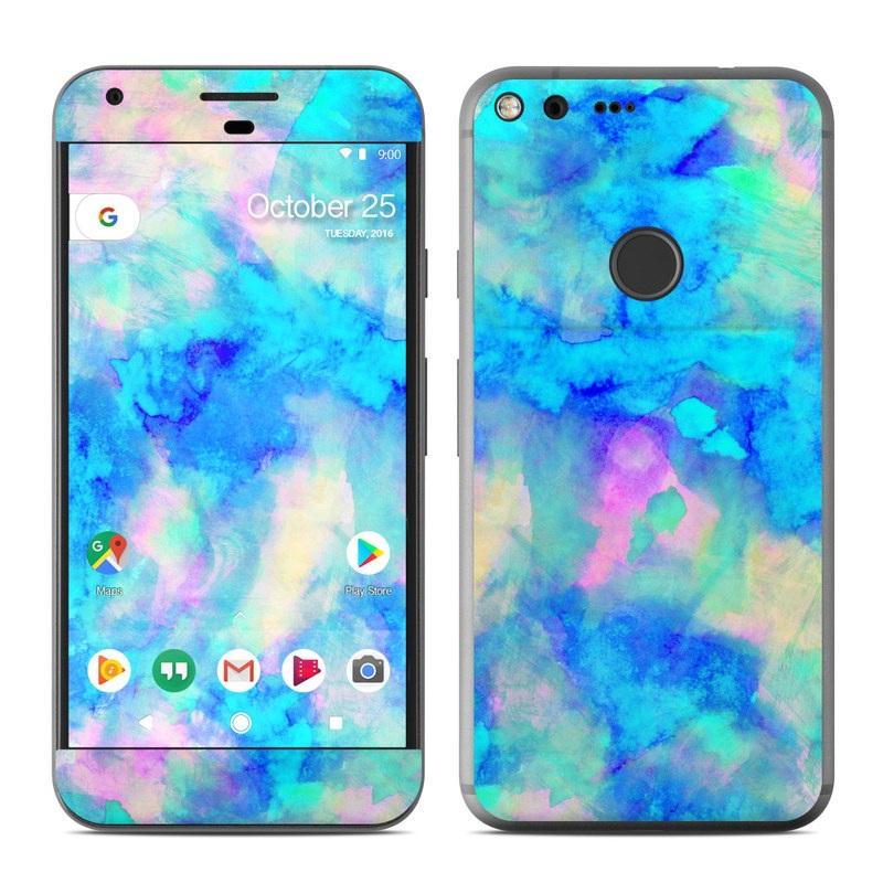 Google Pixel Xl Skin Electrify Ice Blue By Amy Sia