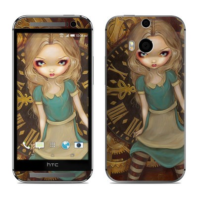 HTC One M8 Skin - Alice Clockwork
