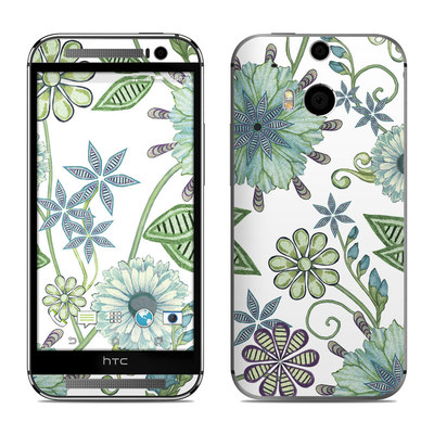 HTC One M8 Skin - Antique Nouveau