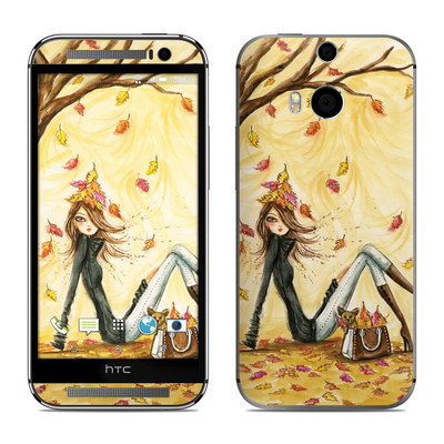 HTC One M8 Skin - Autumn Leaves