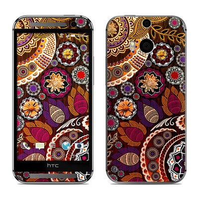 HTC One M8 Skin - Autumn Mehndi