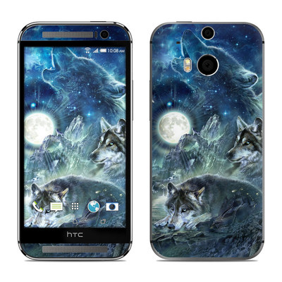 HTC One M8 Skin - Bark At The Moon