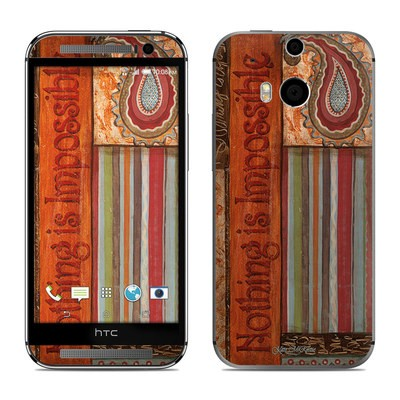 HTC One M8 Skin - Be Inspired