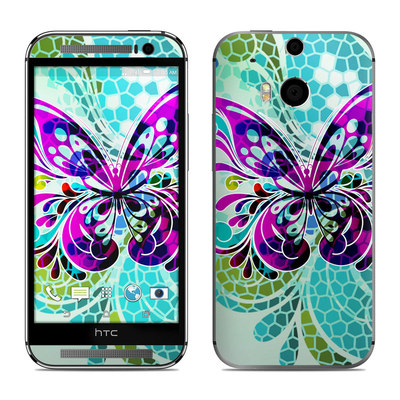 HTC One M8 Skin - Butterfly Glass