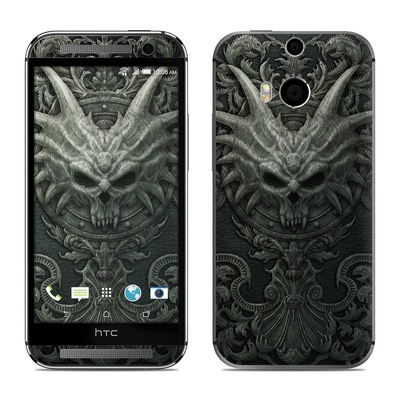 HTC One M8 Skin - Black Book