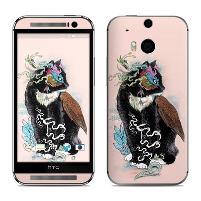 HTC One M8 Skin - Black Magic