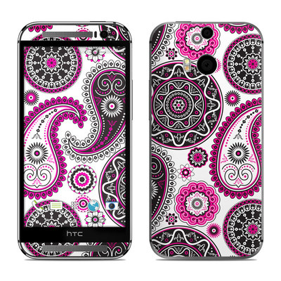 HTC One M8 Skin - Boho Girl Paisley