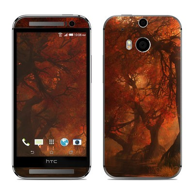 HTC One M8 Skin - Canopy Creek Autumn