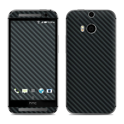 HTC One M8 Skin - Carbon