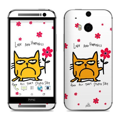 HTC One M8 Skin - Catwad Happy
