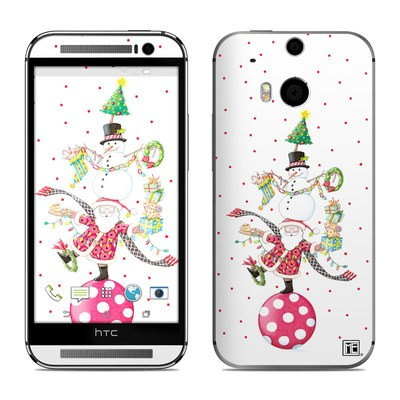 HTC One M8 Skin - Christmas Circus