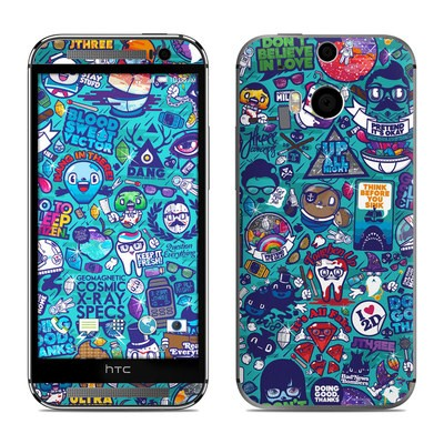 HTC One M8 Skin - Cosmic Ray