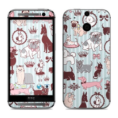 HTC One M8 Skin - Doggy Boudoir