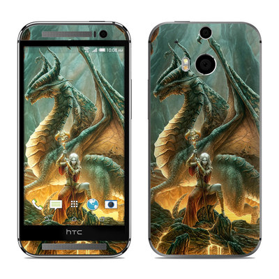 HTC One M8 Skin - Dragon Mage