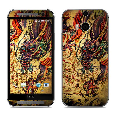 HTC One M8 Skin - Dragon Legend