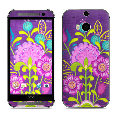 HTC One M8 Skin - Floral Bouquet