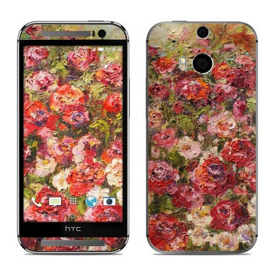 HTC One M8 Skin - Fleurs Sauvages