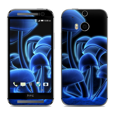 HTC One M8 Skin - Fluorescence Blue