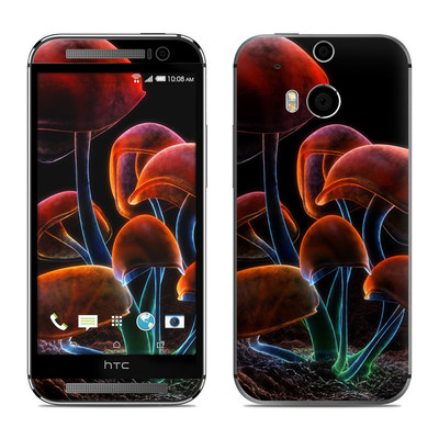 HTC One M8 Skin - Fluorescence Rainbow