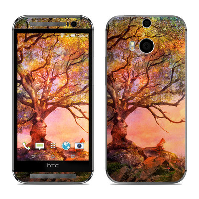 HTC One M8 Skin - Fox Sunset
