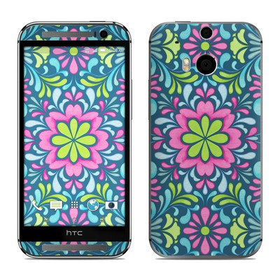 HTC One M8 Skin - Freesia