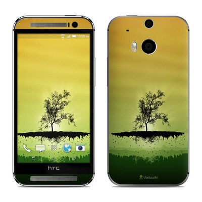 HTC One M8 Skin - Flying Tree Amber