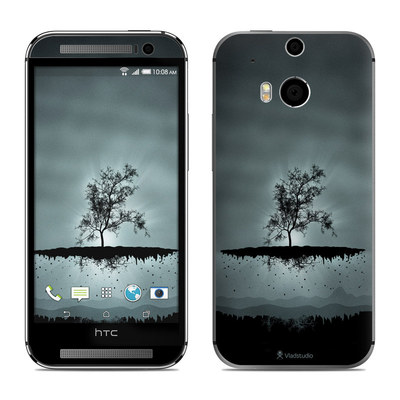 HTC One M8 Skin - Flying Tree Black